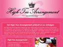 High Tea Arrangement in Amsterdam