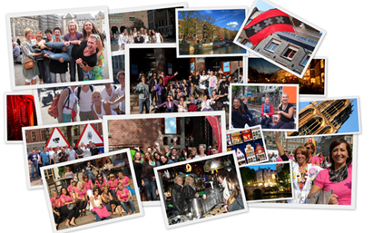 collage - Teambuilding Amsterdam -