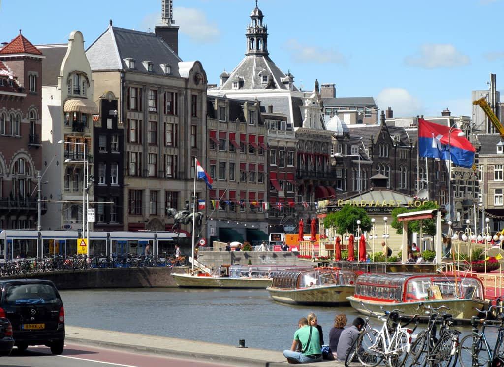 Amsterdam innenstadt - bedrijfsuitje voor grote groep -