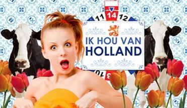 Ik hou van Holland diner dinerspel quiz Amsterdam - IHVH Arrangement - Bekijk hier het Ik Hou van Holland arrangement. Een hilarisch stadsspel, een Hollandse Borrelboot en het Ik Hou van Holland dinerspel als afsluiter van de deze Hollandse dag!
