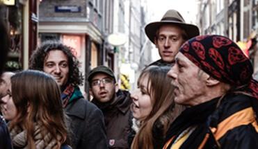 daklozentour - Stadswandeling Amsterdam -
