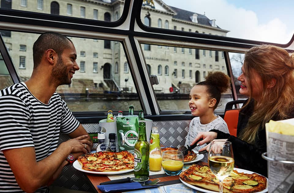 pizza cruise amsterdam - Pizza Boot Amsterdam - vaartochten-boottocht-amsterdam