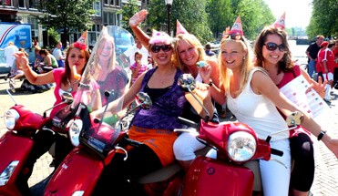 scooter tour amsterdam - Fietstocht Amsterdam -