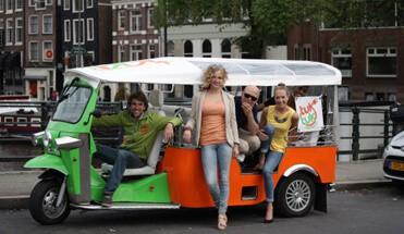 tuktuk dinner - Avondarrangement Amsterdam -