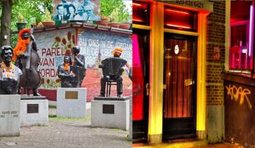van twee walletjes tour amsterdam1 - Van Twee Walletjes Tour - Bekijk hier onze bekende Van Twee Walletjes Tour. De combinatie tour van de twee leukste buurten van de stad: De Jordaan en de Rosse Buurt. Inclusief professionele gids(en)!