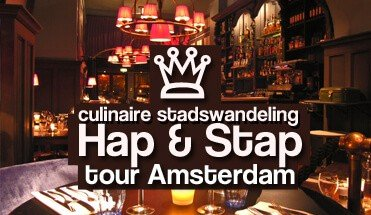walking dinner hap en stap tour amsterdam - Avondarrangement Amsterdam -