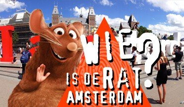wie is de mol wie is de rat amsterdam - Citygame Amsterdam -